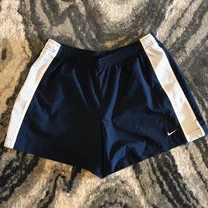 Navy Nike Athletic Shorts